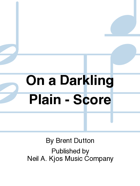 On a Darkling Plain - Score