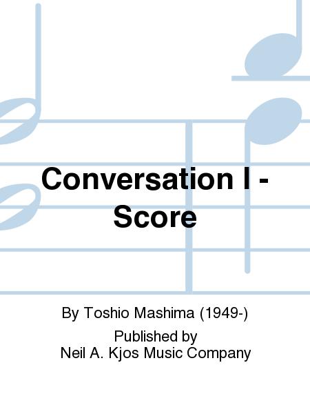 Conversation I - Score
