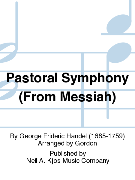 Pastoral Symphony (From Messiah)