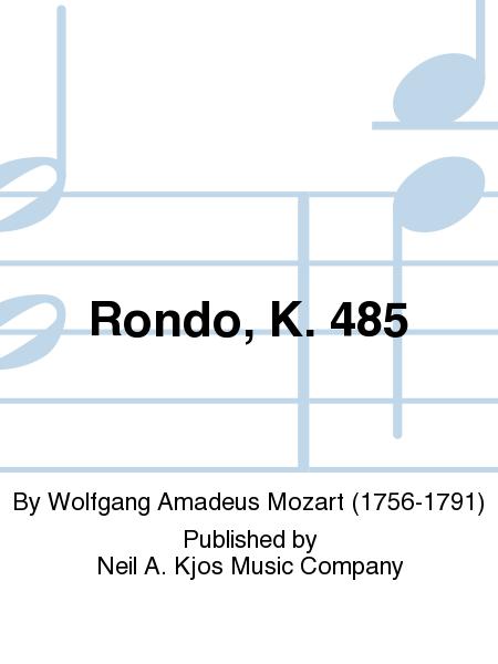 Rondo, K. 485