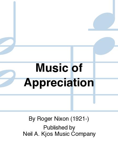 Music of Appreciation
