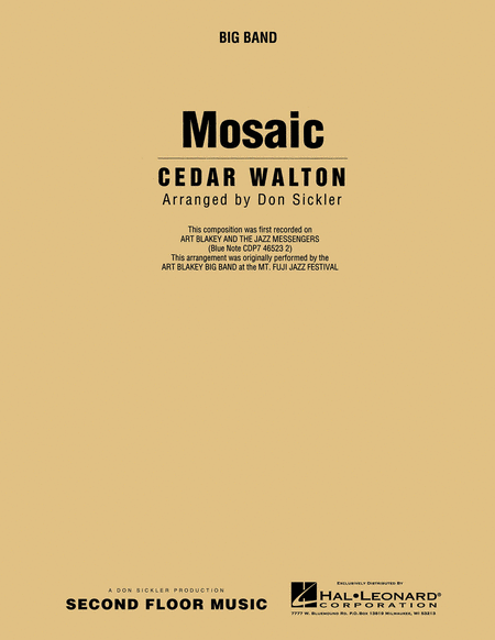 Mosaic Full Score