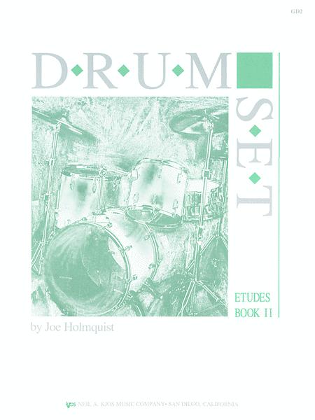 Drum Set - Etudes, Book 2