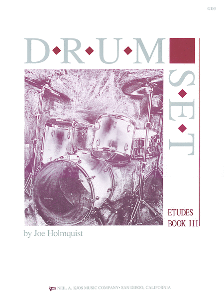 Drum Set - Etudes, Book 3