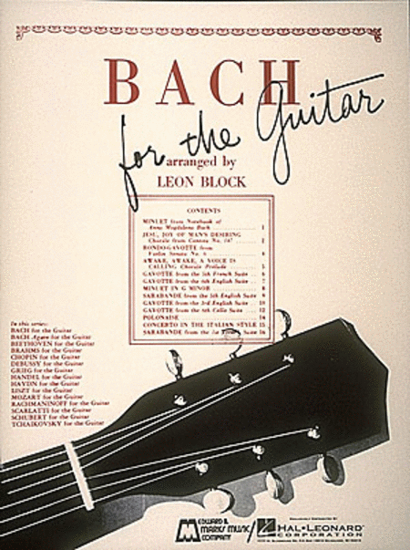 Bach For The Guitar