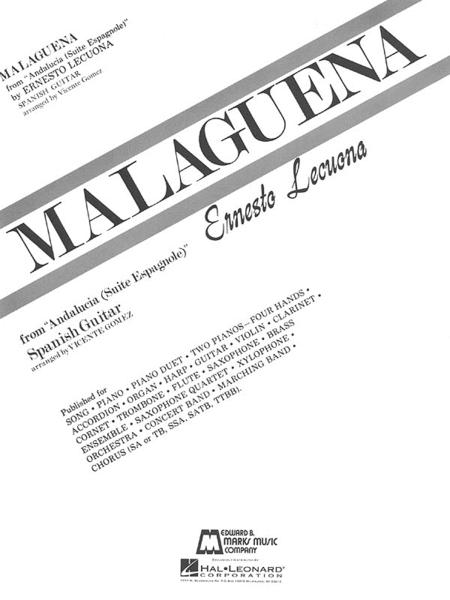 Malaguena - Guitar Solo