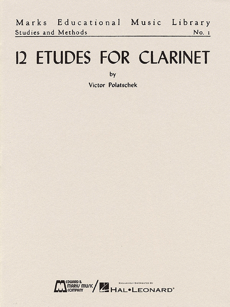 12 Etudes for Clarinet