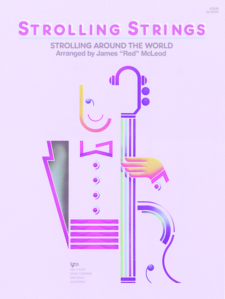Strolling Around the World - Violin