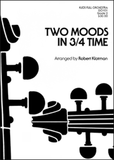 Two Moods in 3/4 Time - Score