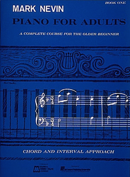 Mark Nevin - Piano for Adults Book 1