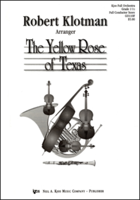 Yellow Rose of Texas - Score