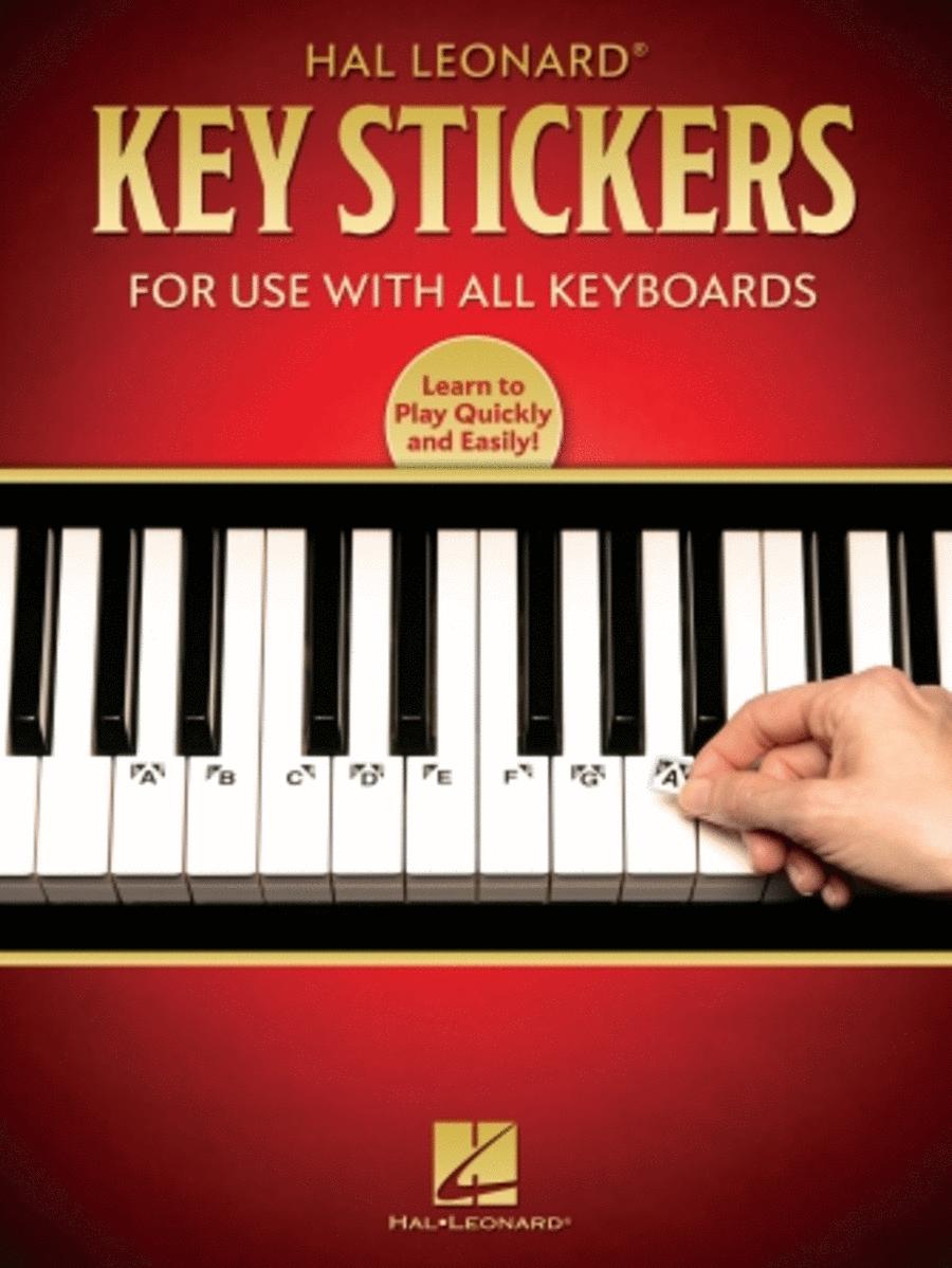 E-Z Play Today - Key Stickers