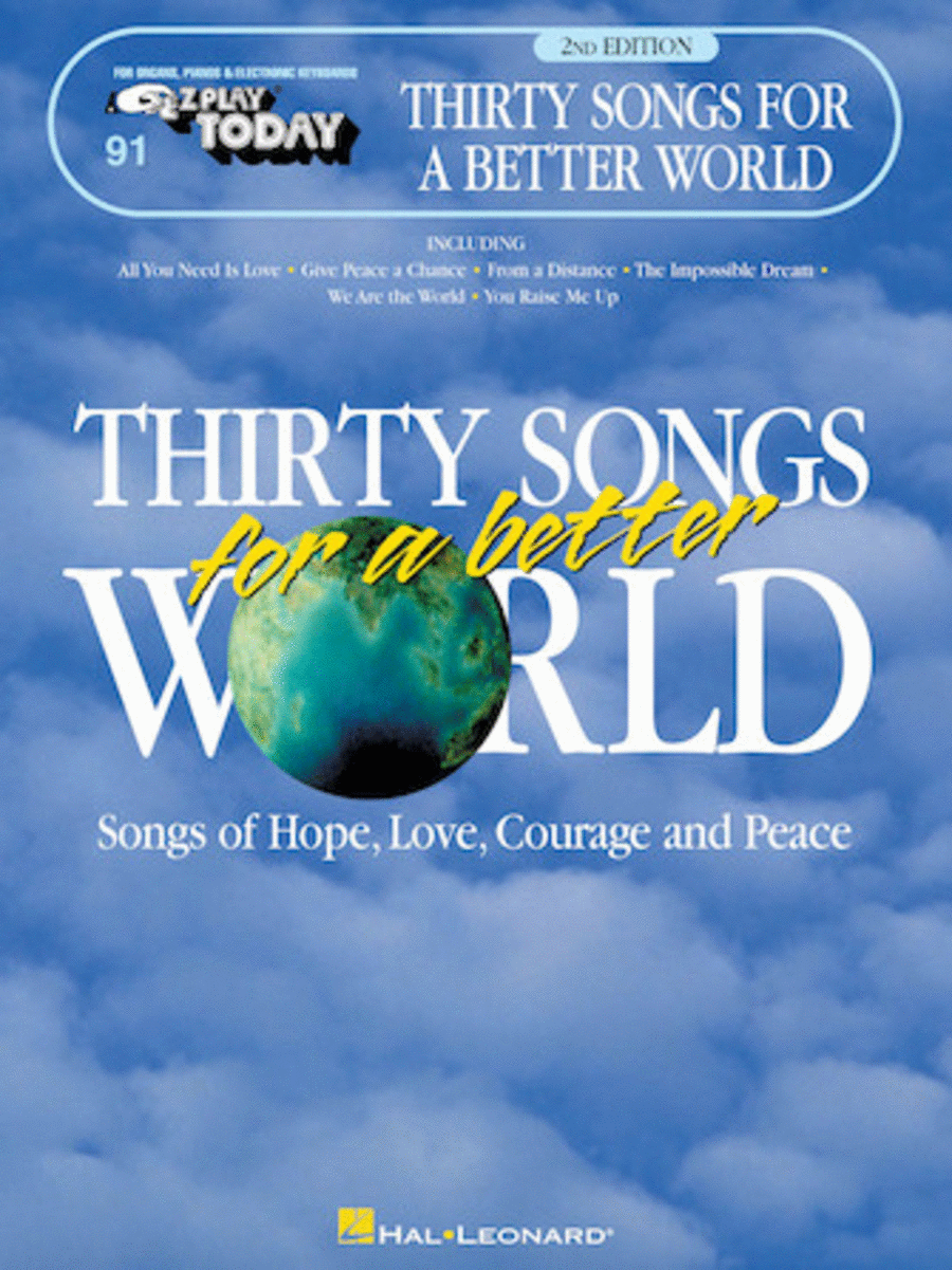 Thirty Songs for a Better World