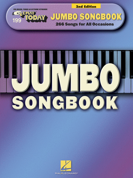 E-Z Play Today #199 - Jumbo Songbook