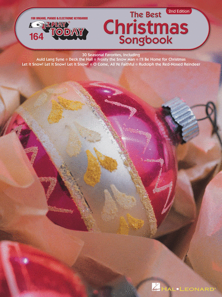 E-Z Play Today #164. The Best Christmas Songbook