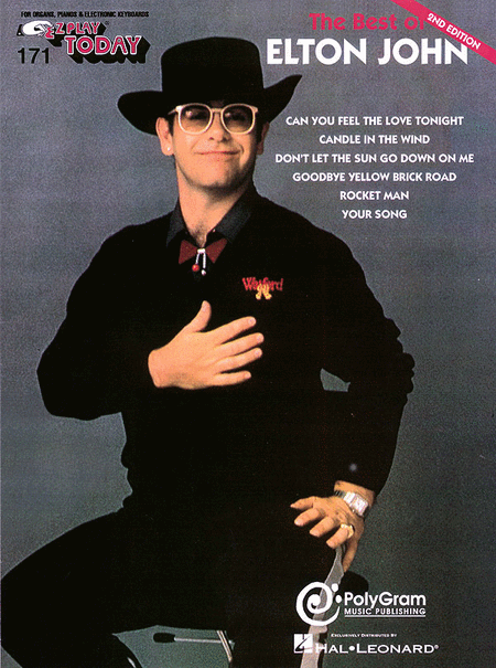 E-Z Play Today #171 - The Best of Elton John