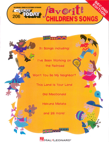 Favorite Children's Songs - 2nd Edition