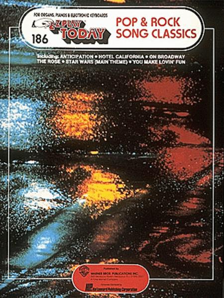 E-Z Play Today #186 - 40 Pop & Rock Song Classics