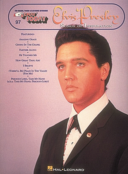 E-Z Play Today #97 - Elvis Presley: Songs of Inspiration