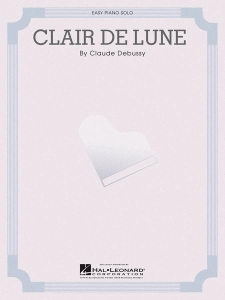 claire de lune debussy pdf