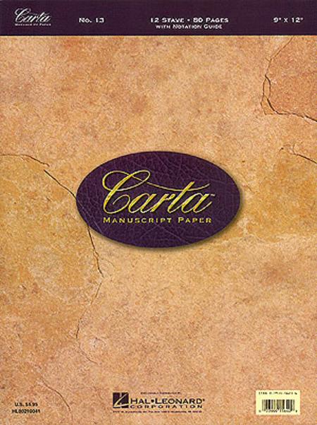 Carta Manuscript Paper No. 13 - Basic