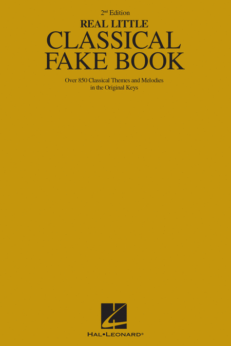 The Real Little Classical Fake Book - 2nd Edition