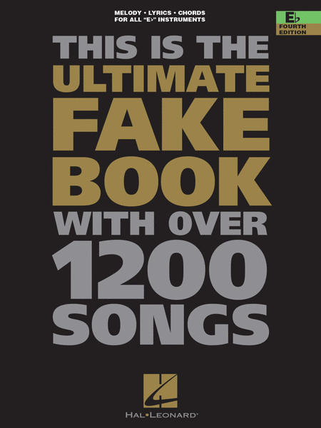 The Ultimate Fake Book - 4th Edition
