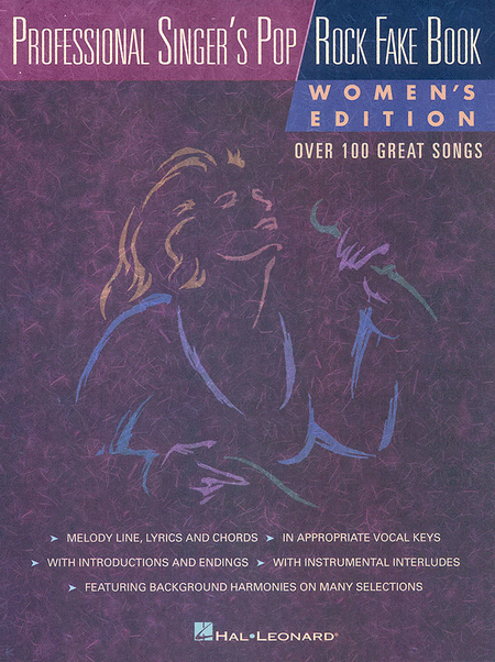 Professional Singer's Pop/Rock Fake Book