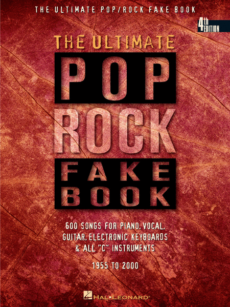 The Ultimate Pop/Rock Fake Book - In C