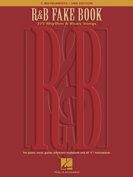 R&B Fake Book - C Instruments -  2nd Edition