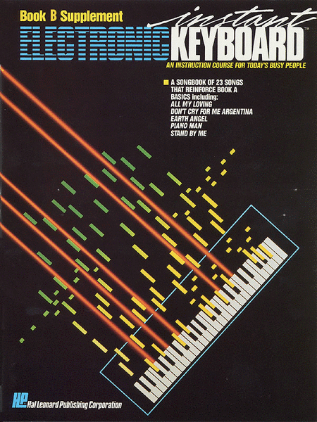 Instant Electronic Keyboard Book B Supplement