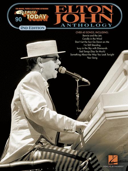E-Z Play Today #90 Elton John Anthology - 2nd Edition