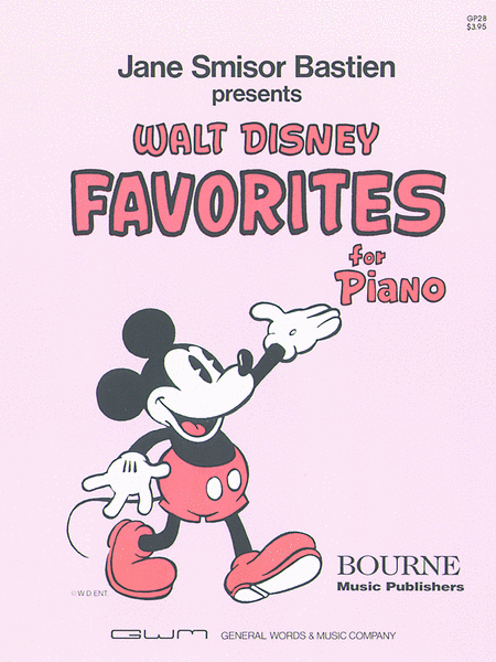 Walt Disney Favorites For The Piano