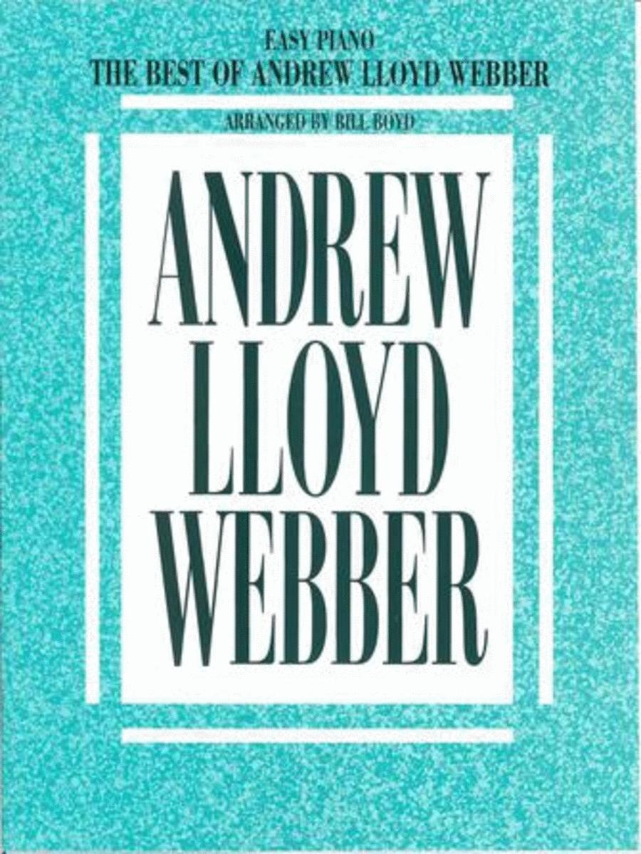 The Best Of Andrew Lloyd Webber - Easy Piano