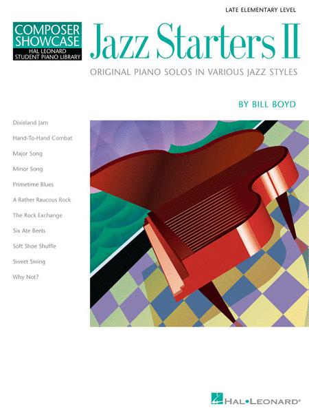 Jazz Starters II - Easy Piano