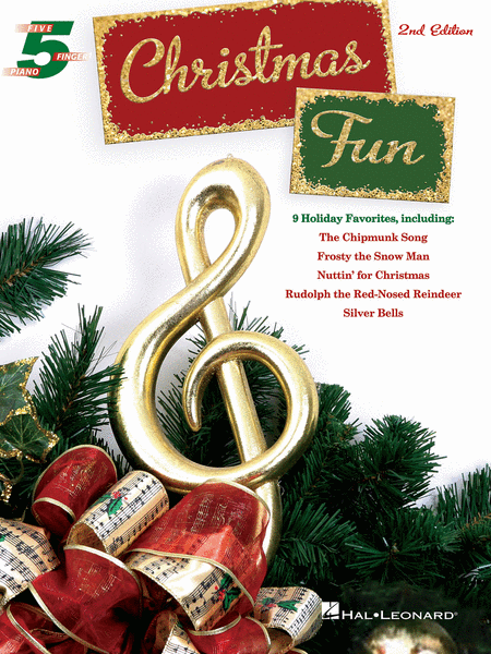 Christmas Fun for Five-Finger Piano - 2nd Edition