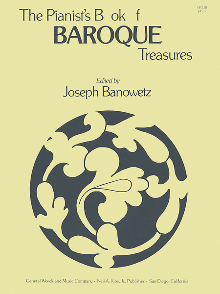 The Pianist's Book of Barouque Treasures