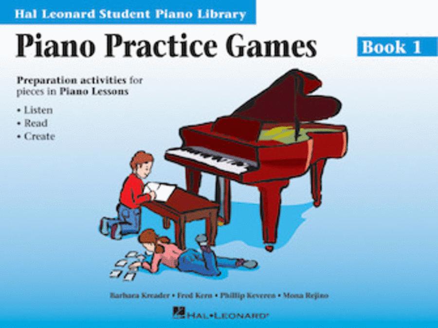 Piano Practice Games - Book 1