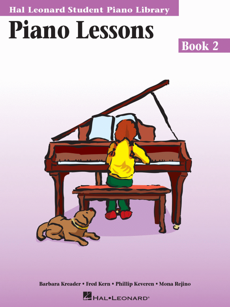 Piano Lessons - Book 2