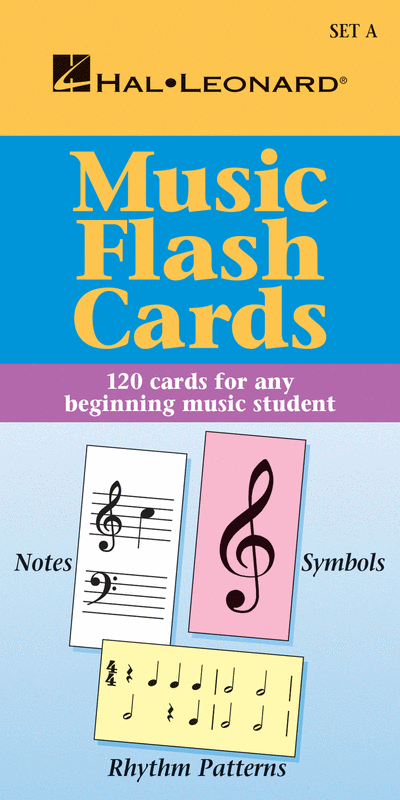 Music Flash Cards - Set A