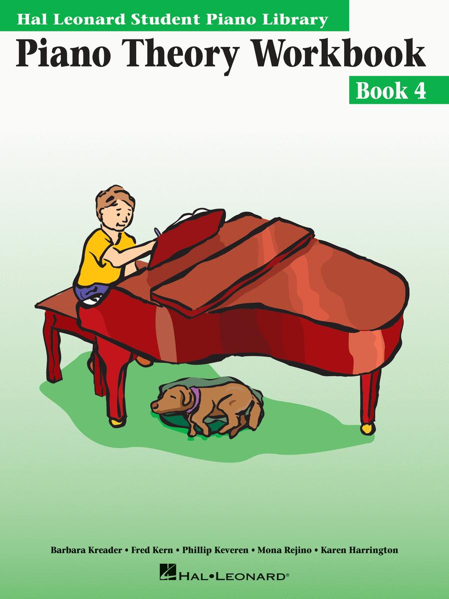 Piano Theory Workbook - Book 4