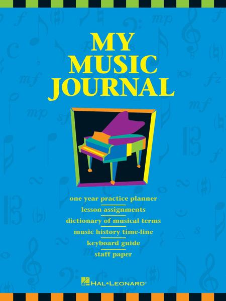 My Music Journal - Student Assignment Book