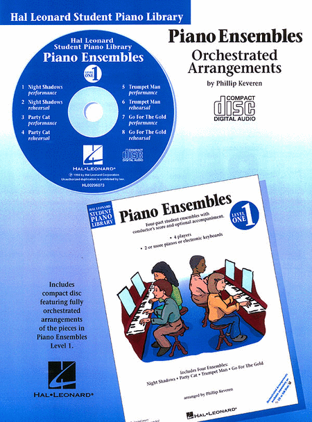 Piano Ensembles Level 1 - CD