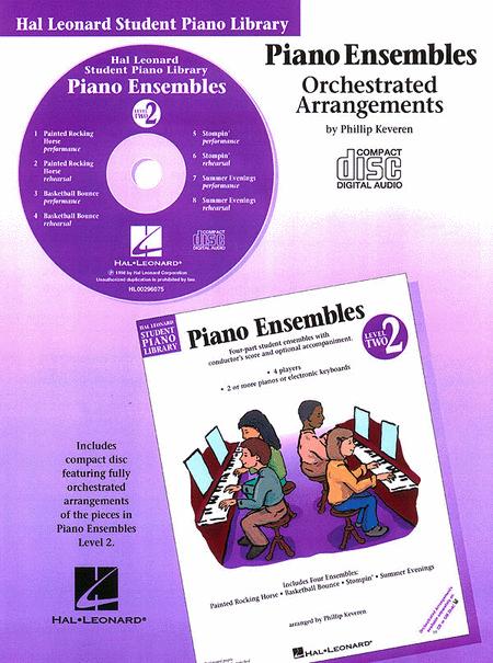 Piano Ensembles Level 2 - CD