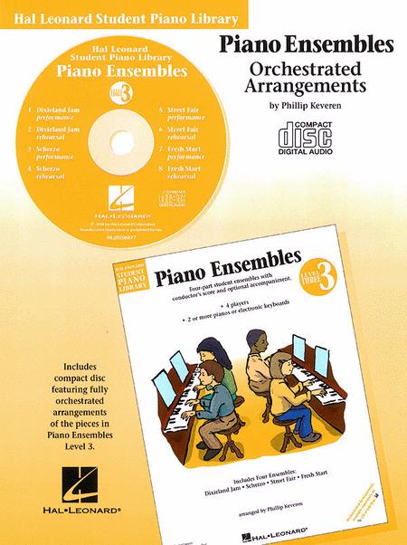 Piano Ensembles Level 3 - CD