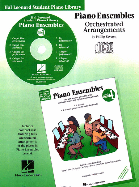 Piano Ensembles - Level 4 - CD