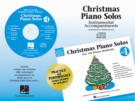 Christmas Piano Solos - Level 1 - CD