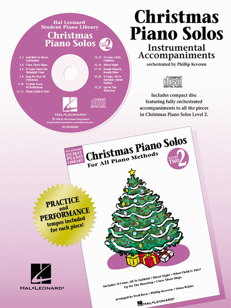Christmas Piano Solos - Level 2 - CD