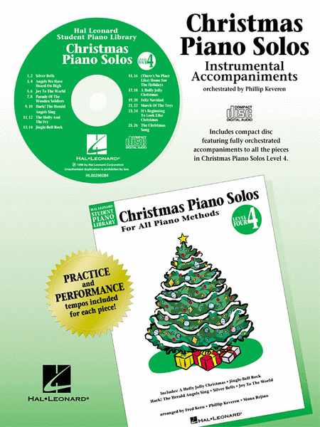 Christmas Piano Solos - Level 4 - CD