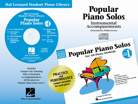 Popular Piano Solos - Level 1 - CD